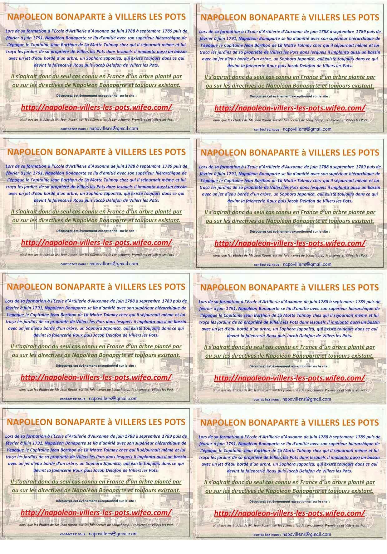4 Par Page Ou 8 Taille Carte De Visite